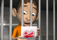 Valentine Ecards Prisoner of Love Ecard