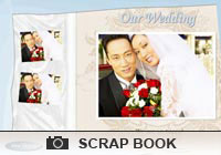 Photo Scrapbooks Wedding Album Ecard