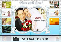 Photo Scrapbooks Just Married Ecard