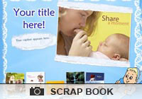 Photo Scrapbooks It's A Boy Ecard