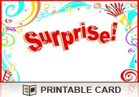 Birthday Ecards Birthday Surprise Ecard