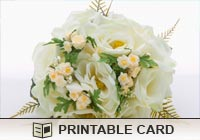 Wedding Bouquet Ecard
