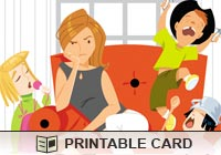 Printable Greeting Cards Need A Break Ecard