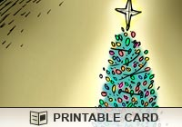 Christmas Cards Funny Tree Ecard