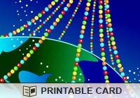 Christmas Cards Light Across the World Ecard
