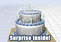 Birthday Ecards Cake Surprise! A Funny Birthday Ecard Ecard