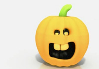 Halloween Pumpkin Surprise Ecard