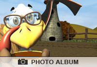 Photo Albums Turkey Windmill Ecard