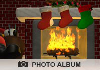 Photo Albums Cozy Christmas Ecard