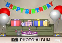 Photo Albums Party Mouse Ecard