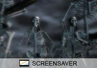 3D Screensavers Bone Warriors Screen Saver