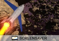 Science Fiction Dangerous Misson Screen Saver