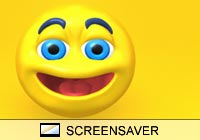 Cartoon Emoticons Screen Saver