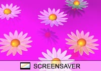 Nature Flowerama Screen Saver