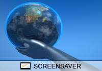 3D Screensavers Global Reach Screen Saver