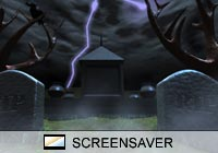 3D Screensavers Graveyard Screen Saver