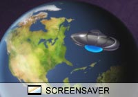 Science Fiction Invaders Screen Saver