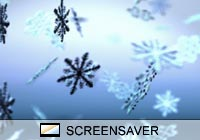 Nature Snow Fall Screen Saver