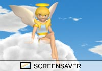 3D Screensavers Angelic Screen Saver